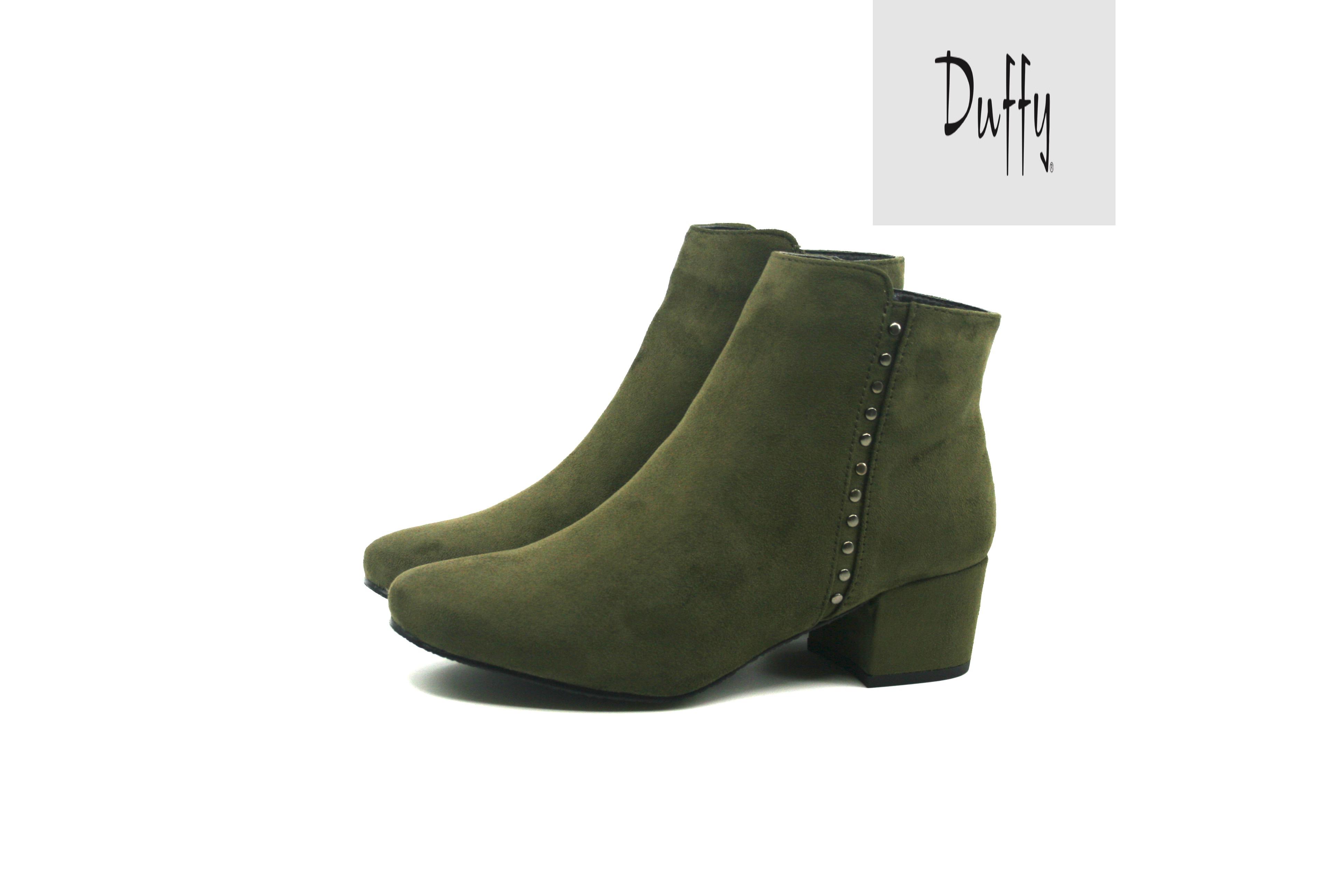 9f26783ceaa3 Damkjaer Sko Online Shop - Lækker støvle fra Duffy - 97-25003 - Kaki