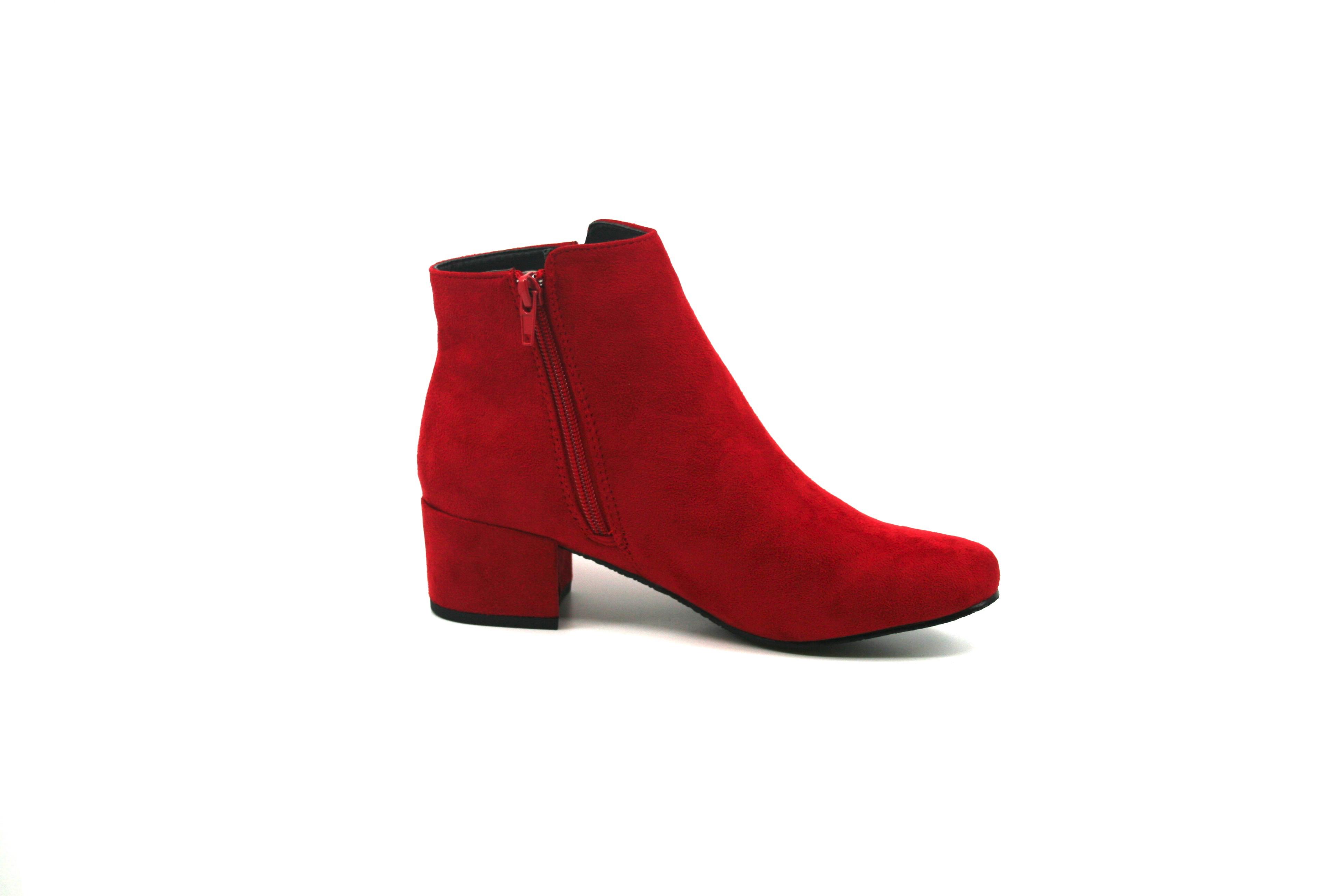 31a6e7c42b48 Damkjaer Sko Online Shop - Lækker støvle fra Duffy - 97-25003 - rød