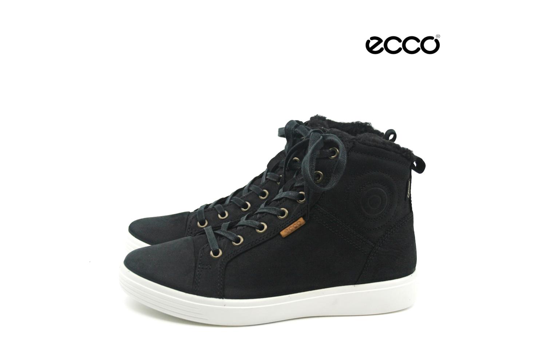 9b5cf7ba9f4 Damkjaer Sko Online Shop - Ecco Teen vinterstøvle med varmt foer