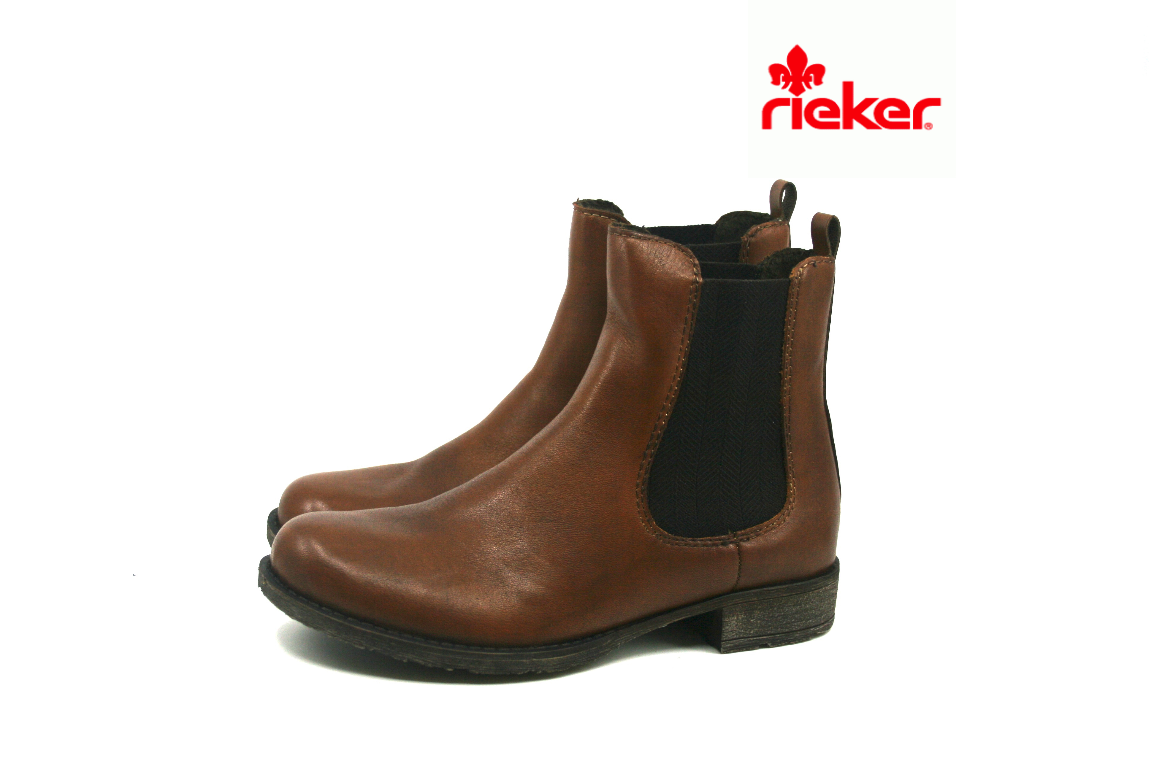 9ba52e34 Damkjaer Sko Online Shop - Rieker Klassisk Brun Støvle - 70880-24