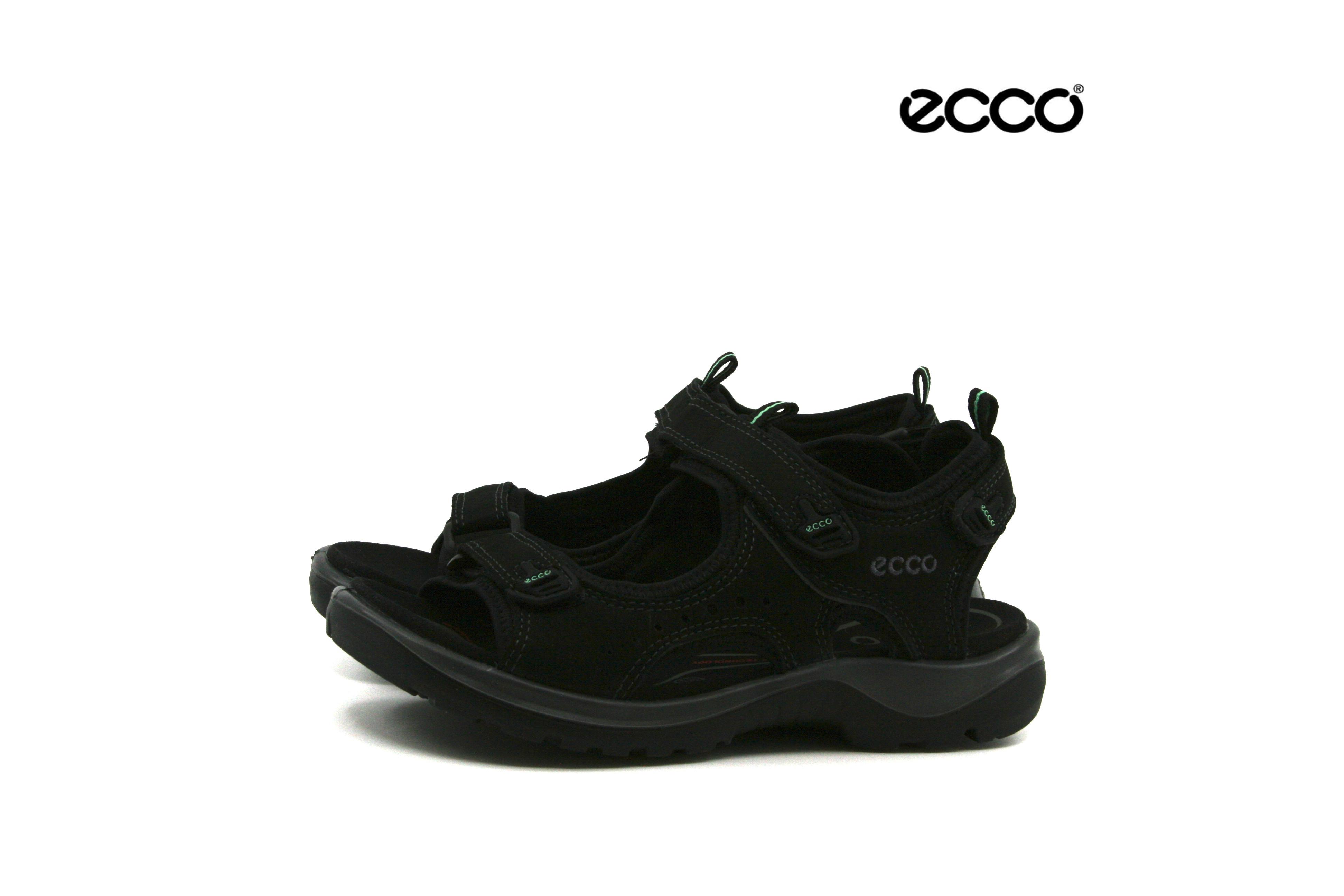 c30a5035da93 Damkjaer Sko Online Shop - Ecco Sandal Dame Sort