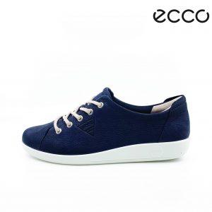 Ecco dame sneakers i blå