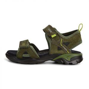 Ecco børne sandal i army