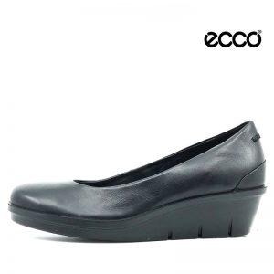 Ecco dame skind sko i sort