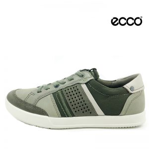 Ecco snøre sko i grøn