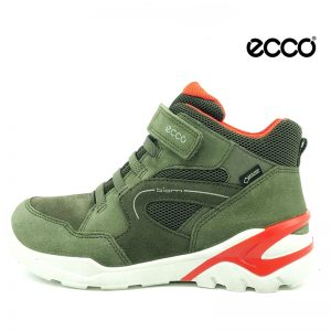 Ecco støvle med goretex i grøn