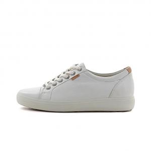 Ecco dame sko i hvid