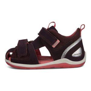 Ecco børne sandal i lila