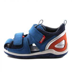 Ecco børne sandal i blå