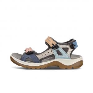 Ecco sandal kombi farvet