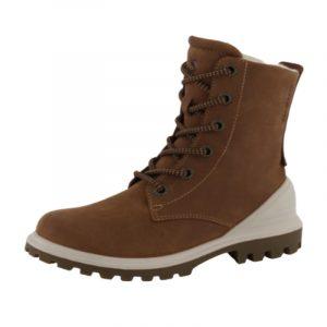 Ecco dame støvle i brun