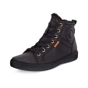 Ecco dame støvle i sort