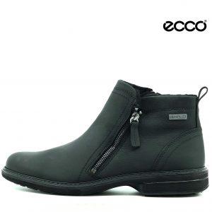 Ecco herre støvle med i lynlås i sort